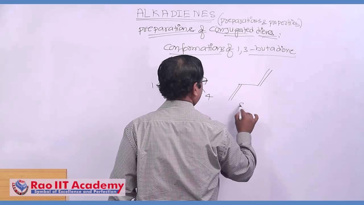 What are alkadienes: preparation, properties, use 40