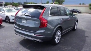 2016 Volvo XC90 T8 Inscription Walkaround, Start up, Tour and Review