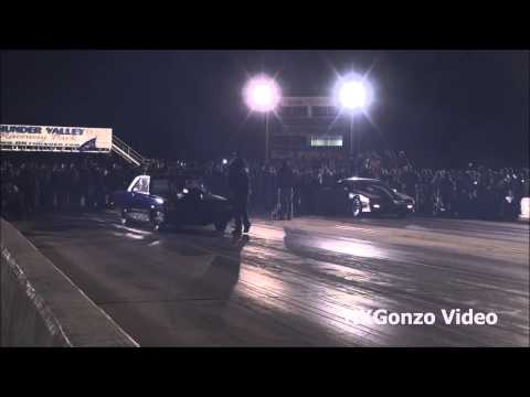 Street Outlaws Dominator VS Silver Unit No Prep Race.