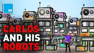 Carlos' Robots Go To Mars! [KID STORIES]