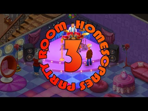 HOMESCAPES - PARTY ROOM - DAY 3