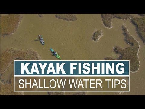 Top 5 Shallow Water Kayak Fishing Tips