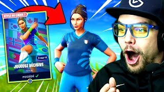 "NEW SKIN ""World Cup 2018"" on FORTNITE: Battle Royale!!"