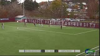 SPU WOMEN'S SOCCER: Chloe Gellhaus goal (Nov. 16, 2019)
