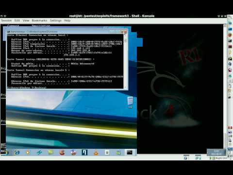 BackTrack 4 R1 Metasploit 3 & SET, Hacking Windows 7