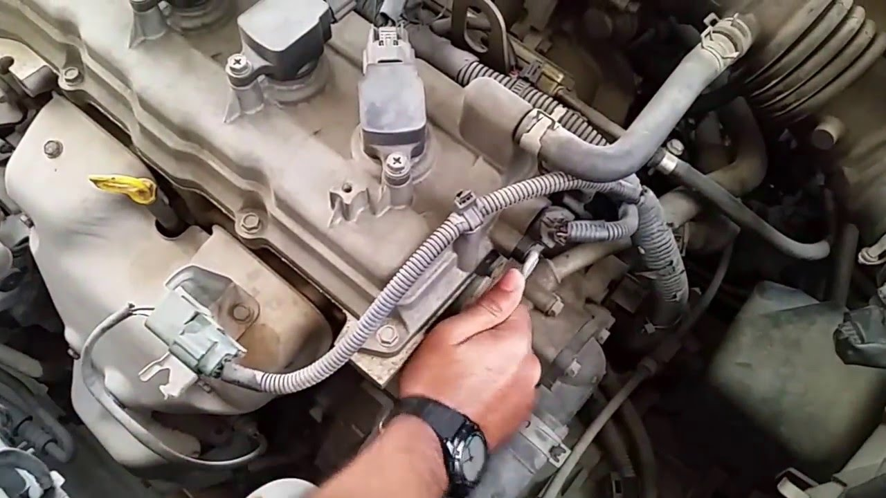 Crankshaft position sensor replacement code p0335 nissan sunny 2004 youtube