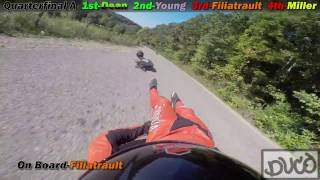 2016 Soldiers of Downhill Street Luge Race - Crash Highlights