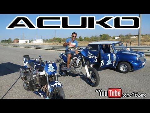 Acuko Freestyle Stunt Bike Show hd