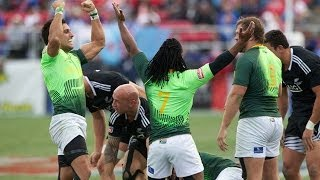 South Africa claim dramatic USA Sevens title in Las Vegas