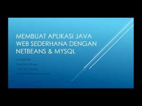 Cara Membuat Java Web Dengan Netbeans
