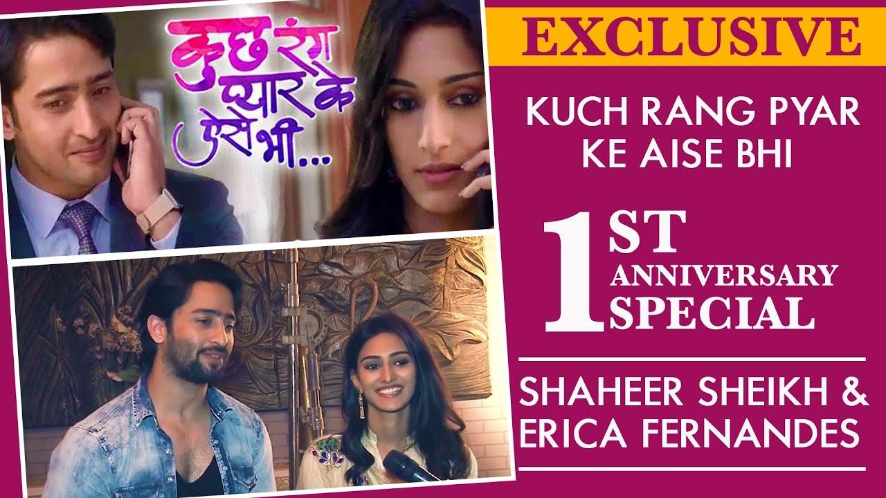 Kuch Rang Pyar Ke Aise Bhi 1st Anniversary Special | Shaheer Sheikh & Erica Fernandes | Exclusiv