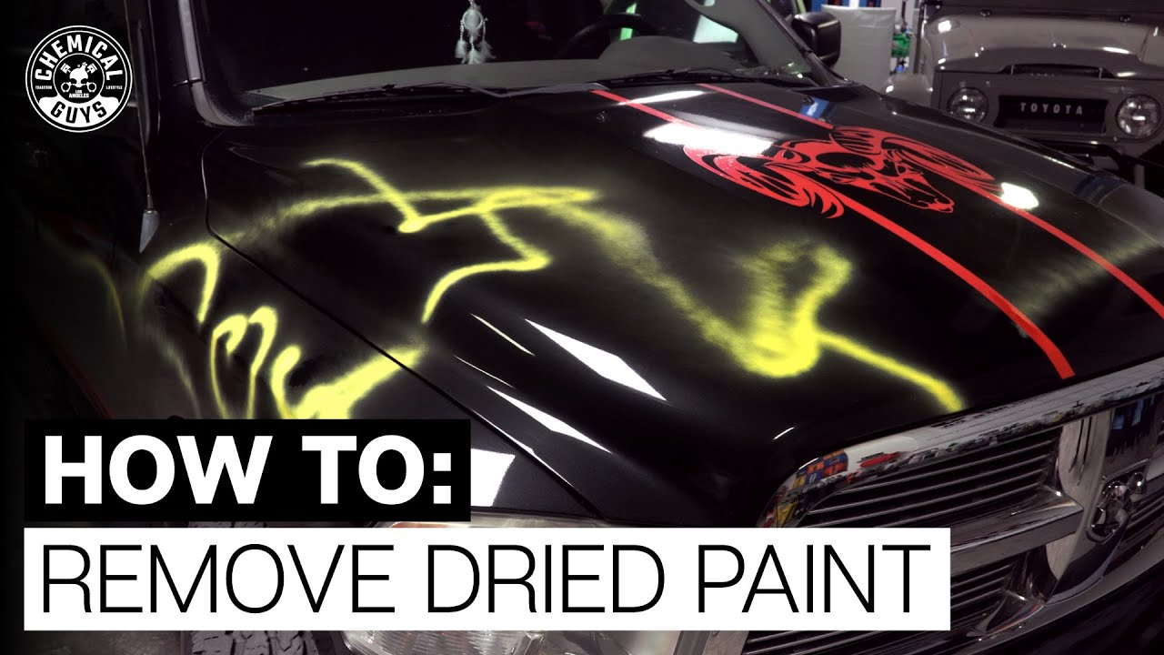 How To Easily Remove Spray Paint, Over Spray & Graffiti! - Chemical Guys