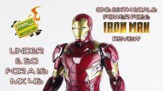 Crazy Toys 1:6 Ironman Mk 46 Powerpose