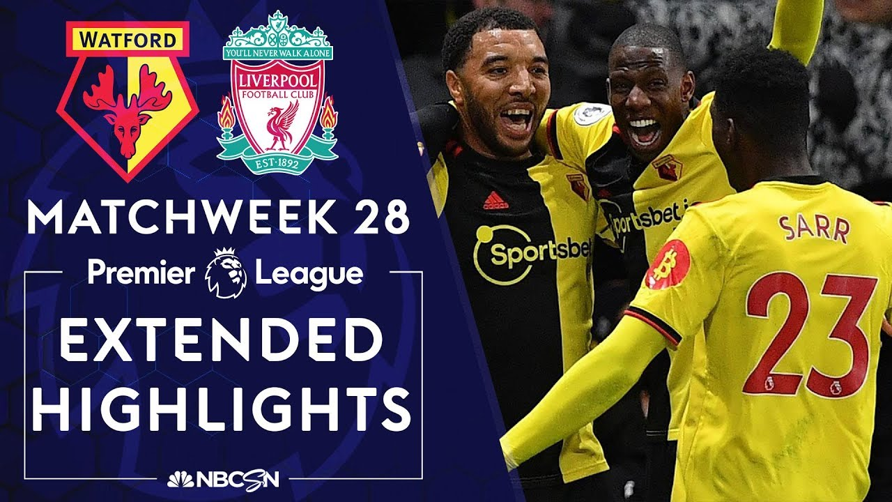 Watford v. Liverpool | PREMIER LEAGUE HIGHLIGHTS | 2/29/2020 | NBC Sports
