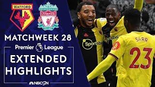 Watford v. Liverpool | PREMIER LEAGUE HIGHLIGHTS | 2/29/2020 | NBC Sports