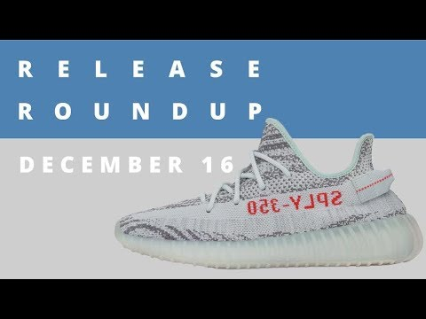 Download Youtube: Blue Tint Yeezy Boosts, Gatorade Jordans, and More | Release Roundup