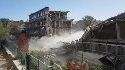 Destruction d'un immeuble à rueil malmaison par Nexity - nuisances