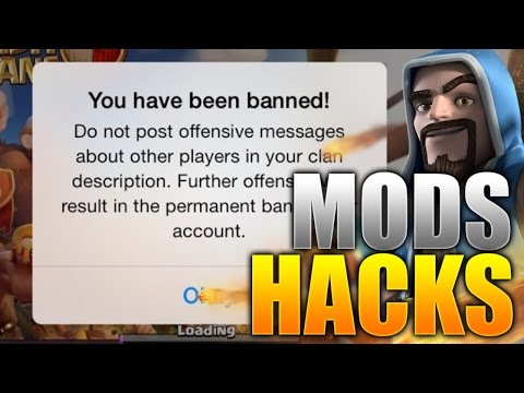 Clash Of Clans - HACKS, CHEATS & Mods!