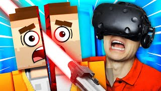 Rescue The LAST PERSON ON EARTH In VIRTUAL REALITY (Just In Time Incorporated VR Funny Gameplay)