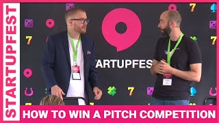 How do you win a pitch competition? - Startupfest 2017
