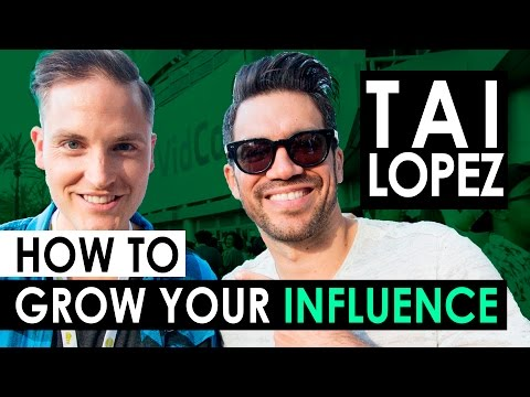 Tai Lopez on How to Grow Your Social Media Following and Online Influence