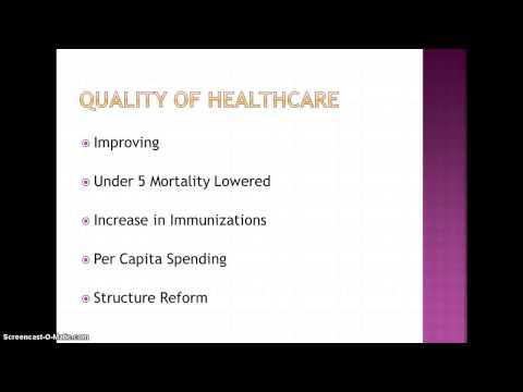 Healthcare System of Ireland
