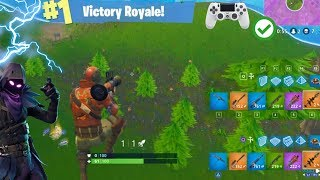 DESTROYING PC PLAYERS WITH A CONTROLLER! | CONSOLE BUILDING GOD | FORTNITE BATTLE ROYALE GAMEPLAY