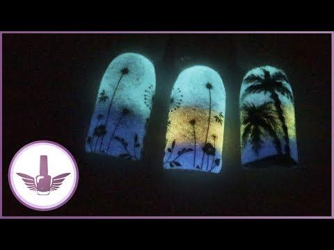 Одуванчики на ногтях фото