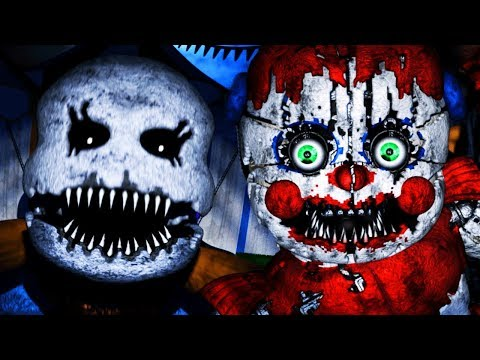 NIGHTMARE FUNTIME ANIMATRONICS ATTACK!   Baby's Nightmare Circus (FREE ROAM Five Nights at Freddys)