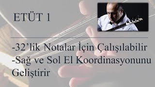 Mehmet KINIK - Uzun Sap Bağlama Parmak Egzersizleri (Etüt 1)