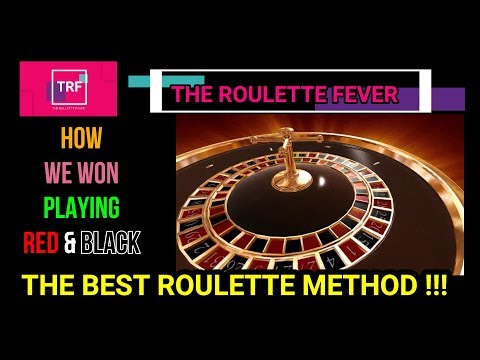 How To Win Playing RED & BLACK - THE BEST ROULETTE METHOD