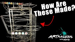 What Is Rolling Ball Sculpture?  Physics & Sculpture