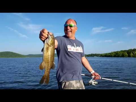 Table rock lake video fishing report june 14 2017 youtube for June lake fishing report
