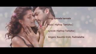 Cover images kannala kannala lyrics song