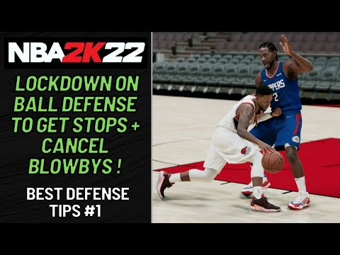 How to Play Defense in NBA 2K22: Best On Ball Defense Tips