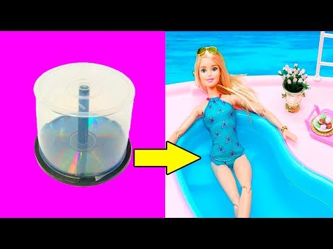 DIY Barbie Hacks | Making Easy Clothes for Barbie Dolls in 5 Minutes