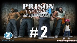 Lets Play Prison Tycoon 4 - Part 2