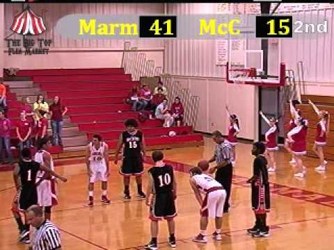 2012 McCrory Jaguars at Marmaduke Greyhounds basketball ...