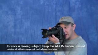 Nikon DSLR AF-On Button Technique