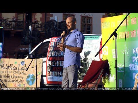 Wer hat hier Pressefreiheit? - Rico Albrecht beim Tag der Wahrheit in Mainz