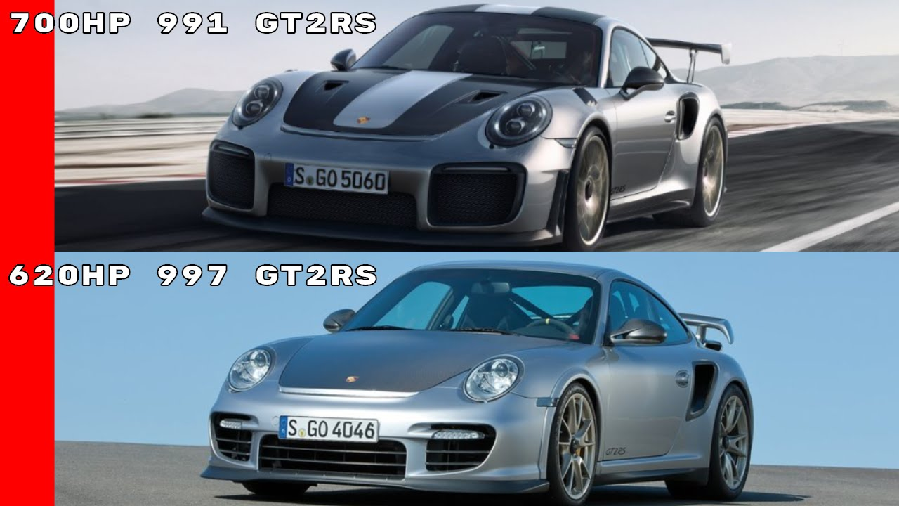 2018 porsche 911 gt2 rs vs 2011 911 gt2 rs youtube. Black Bedroom Furniture Sets. Home Design Ideas