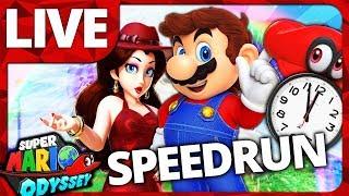 Super Mario Odyssey ANY% Speedrun in 1:32:09 | Huebi