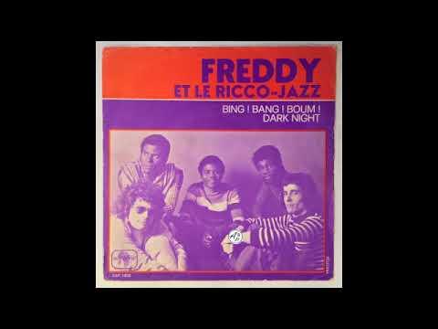 Freddy et Le Ricco Jazz - Dark Night (Republic of Congo, 1973, Sonafric)