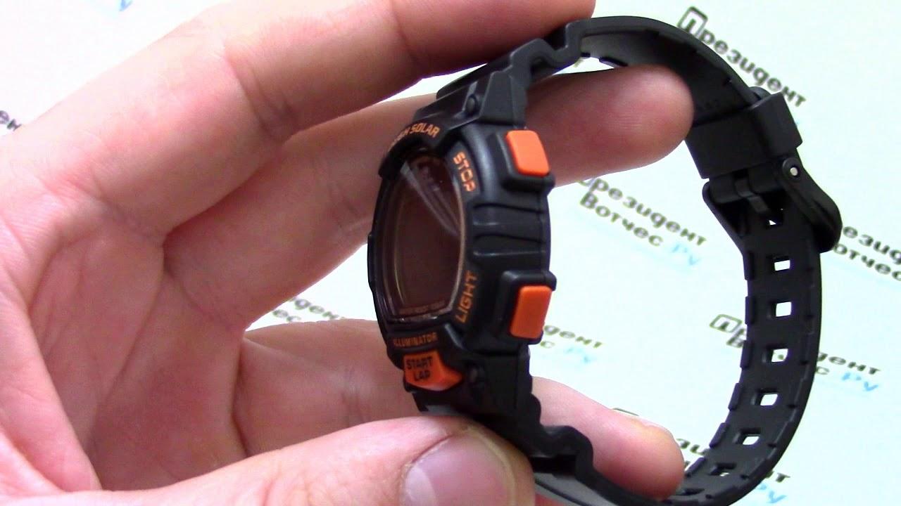 99958ed9b4f1 Часы Casio Sport STL-S300H-1B  STL-S300H-1BEF  - видео обзор от  PresidentWatches.Ru