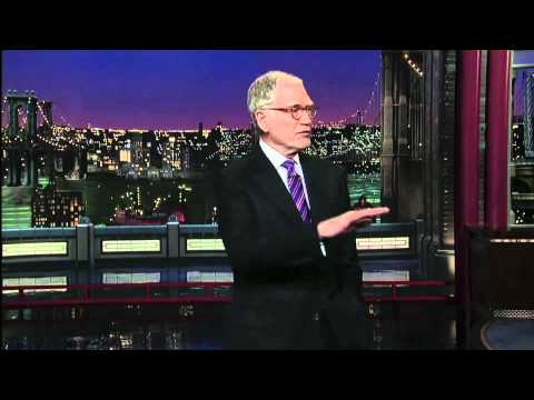 David Letterman rips Jay Leno for stabbing Conan in the back, April 28, 2011