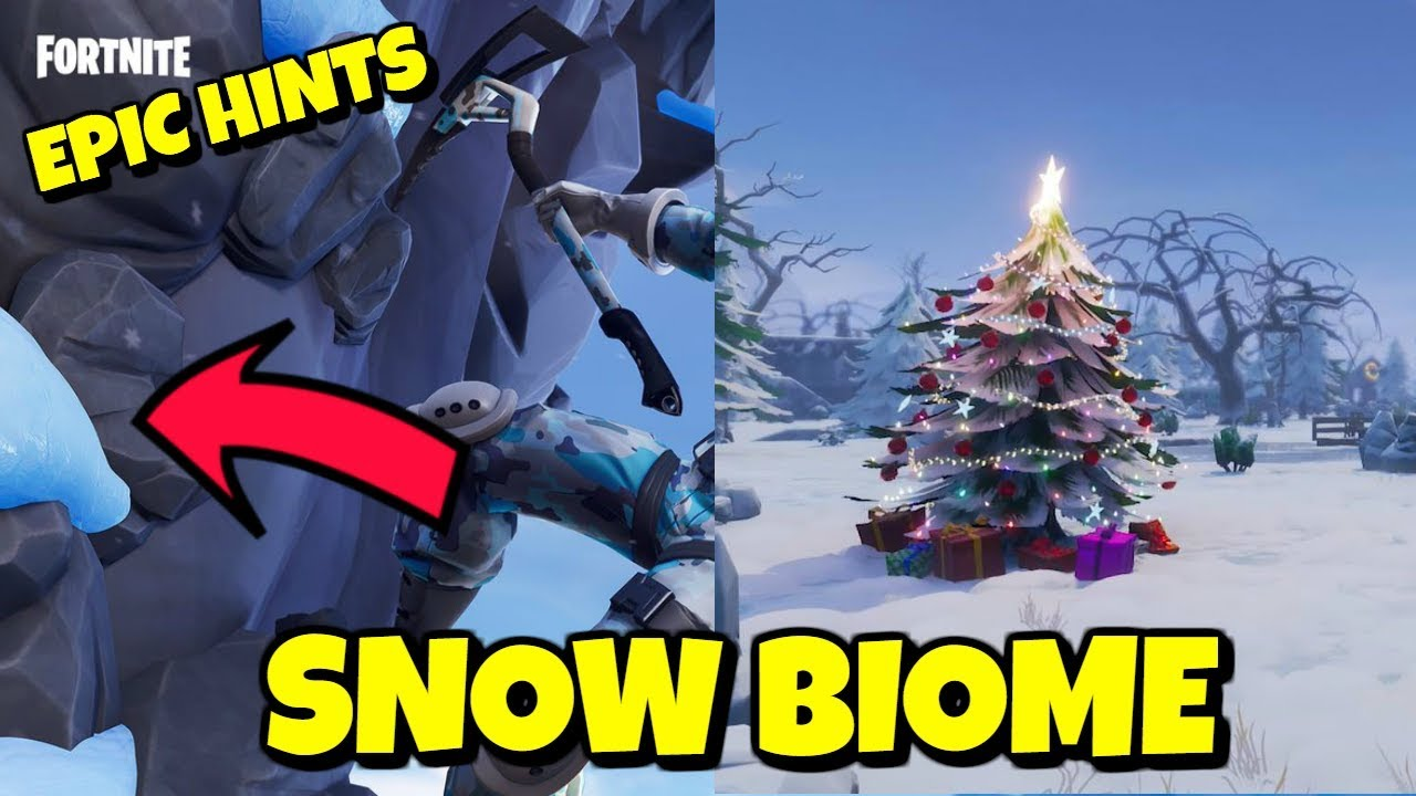 Epic Games Teases Snow Map In Season 7 Fortnite Youtube
