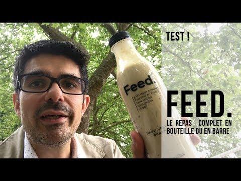 Test : Feed. Le repas complet en bouteille !