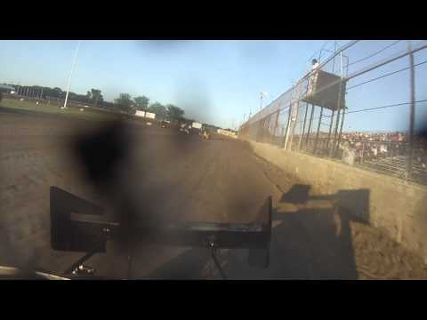 Brandon Sletten - Micro Sprint Heat Race - Wilmot 7-13-13