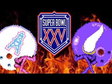 SUPERBOWL XXV - Oilers vs. Vikings