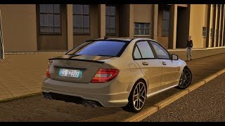 The Best Sound MOD for City Car Driving 1.5 - Mercedes-Benz C63 AMG W204 2012 :)